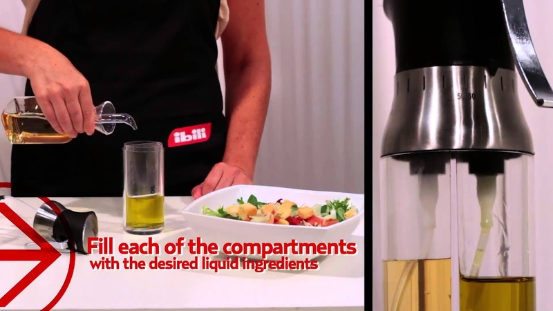 Pulverizador de aceite vinagre doble IBILI Double vinegar oil sprayer