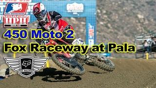 🦊 2020 AMA Pro Motocross Fox Raceway / Pala Outdoor National 450 Moto 2 KTM 450SXF YZ450F KX450