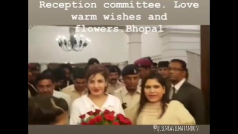 Raveenatandonin_Bhopal