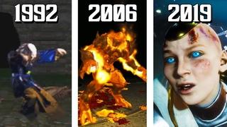 The Evolution of Scorpion Defeating Mortal Kombat Bosses! (1992-2019)