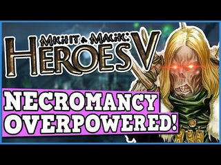 Heroes of Might and Magic V - NECROMANCY ONLY CHALLENGE IS PERFECTLY BALANCED WITH NO EXPLOITS!