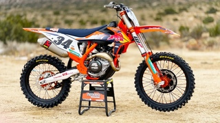 First Ride 2021 KTM 450SXF Factory Edition with Bluetooth - Motocross Action Magazine