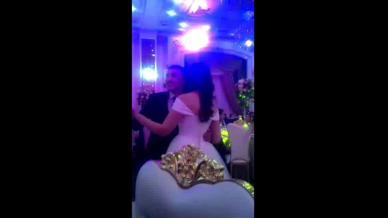 свадьба Тубай аке и Элиза жене