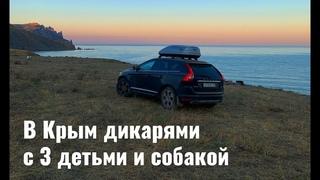 В Крым на машине с детьми, собакой и палаткой: лучшие места