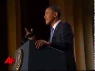 У Барака Обамы отвалился    герб