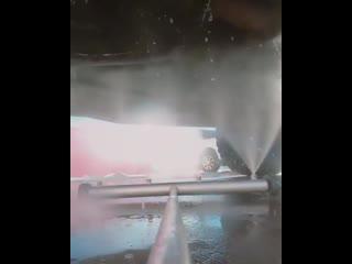 Насадка на мойку высокого давления для мытья днища