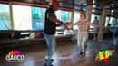 Julian Duke and Liliya Garus Salsa Dancing at KISF, Sunday 03.06.2018