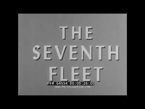 U.S. NAVY SEVENTH FLEET FORMOSA PATROL, KOREAN WAR, TAIWAN STRAIT CRISIS 1950s FILM 64554