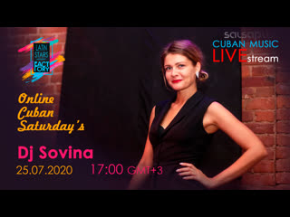Dj Sovina - ONLINE CUBAN SATURDAYS