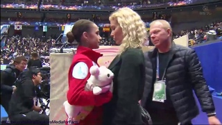 Alina Zagitova World Champs 2019 SP 1  C2