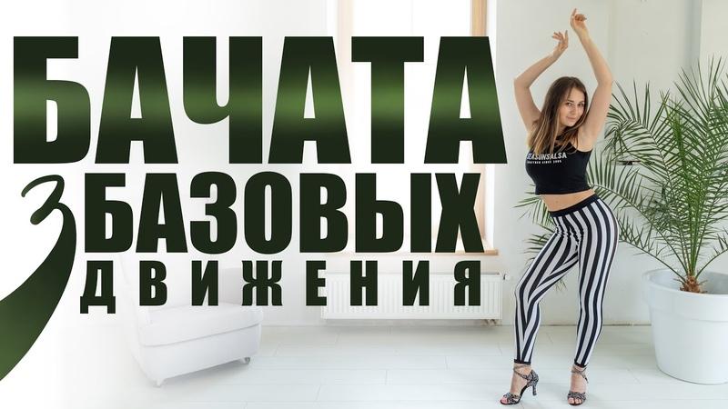 Бачата для начинающих Базовые движения Обучающие видео уроки танцев в домашних условиях