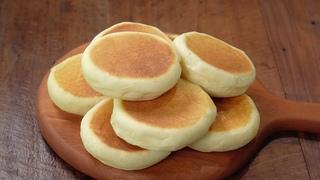 [노오븐] 후라이팬 꿀호떡 만들기 :: 기름없는 호떡빵 :: Honey Hotteok :: Honey-filled Korean Pancake :: No oven baking