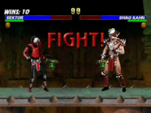Mortal Kombat Trilogy: Sektor Very Hard Champion Ladder part 2/2
