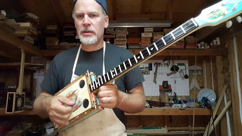 5 Different Alternative Tunings for the 3 String Cigar Box Guitar