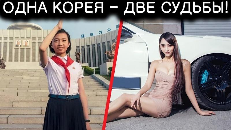 Северная и Южная Кореи ДВЕ СУДЬБЫ одной страны