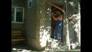 замена двери деревянная на металлическую _ролик для туристов )) / change the door on my hourse