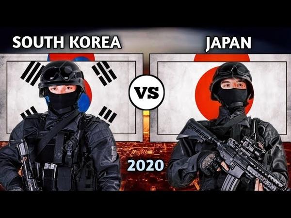 South Korea vs Japan military power comparison 2020