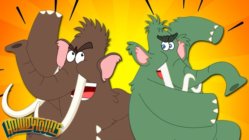 Woolly Mammoth Stampede Woolly Mammoth and Giant Animal Songs by Howdytoons