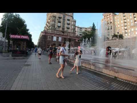 Прогулка по Киеву Крещатик