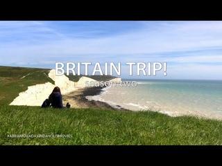 BRITAIN TRIP! - Истборн! Скалы Seven Sisters, Мыс самоубийц Beachy Head - Eastbourne 2018!