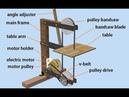 Assembly Animation My DIY Bandsaw using autodesk inventor animasi proses merakit gergaji bandsaw