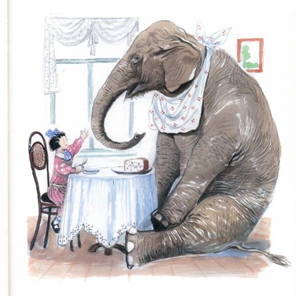 Картинка на рассказ слон