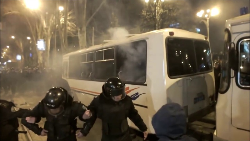 Донецк майдан площадь Ленина 13 марта 2014 года