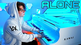 Alone  - Alan Walker & Ava Max (Piano cover) by Peter Buka
