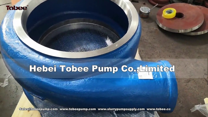 Tobee analogs Warman 8x6 slurry pump wetted end parts