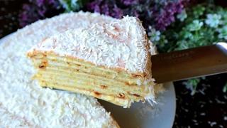Торт Сметанник на сковороде! Простой рецепт домашнего торта