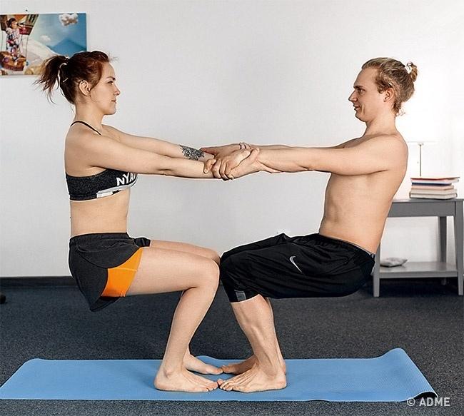 Парная йога — обязательно попробуйте, изображение №7
