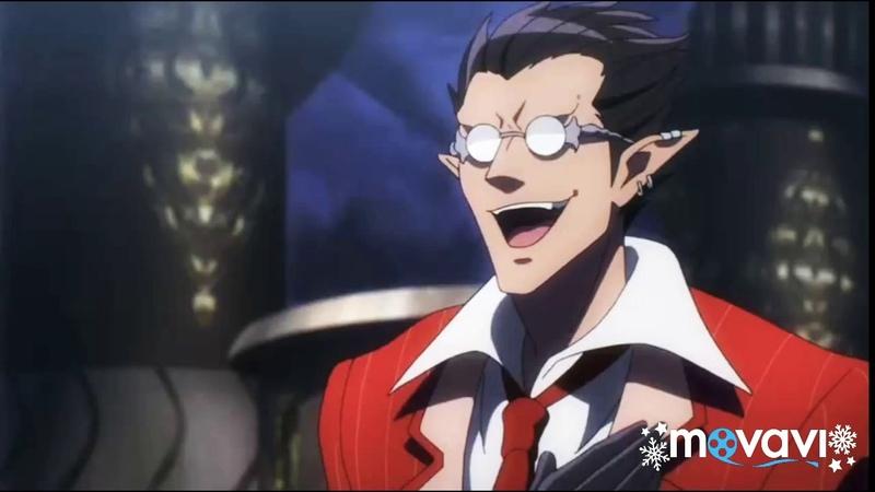 Anime Overlord Повелитель Айнз Оал Гоун старается скрыть свою некомпетентность перед подчинёнными