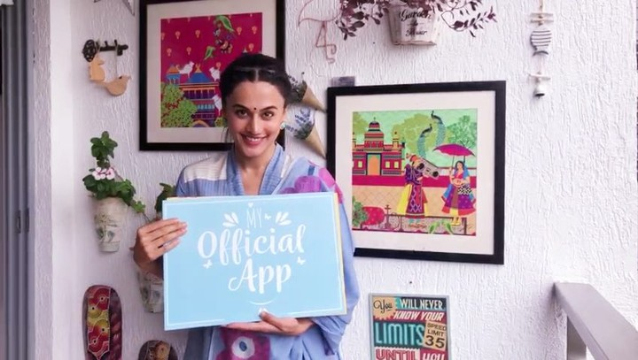 Taapsee Pannu on Instagram Hey guys Here's the big surprise for you all For details check the link in my Bio I really can't wait to see you th