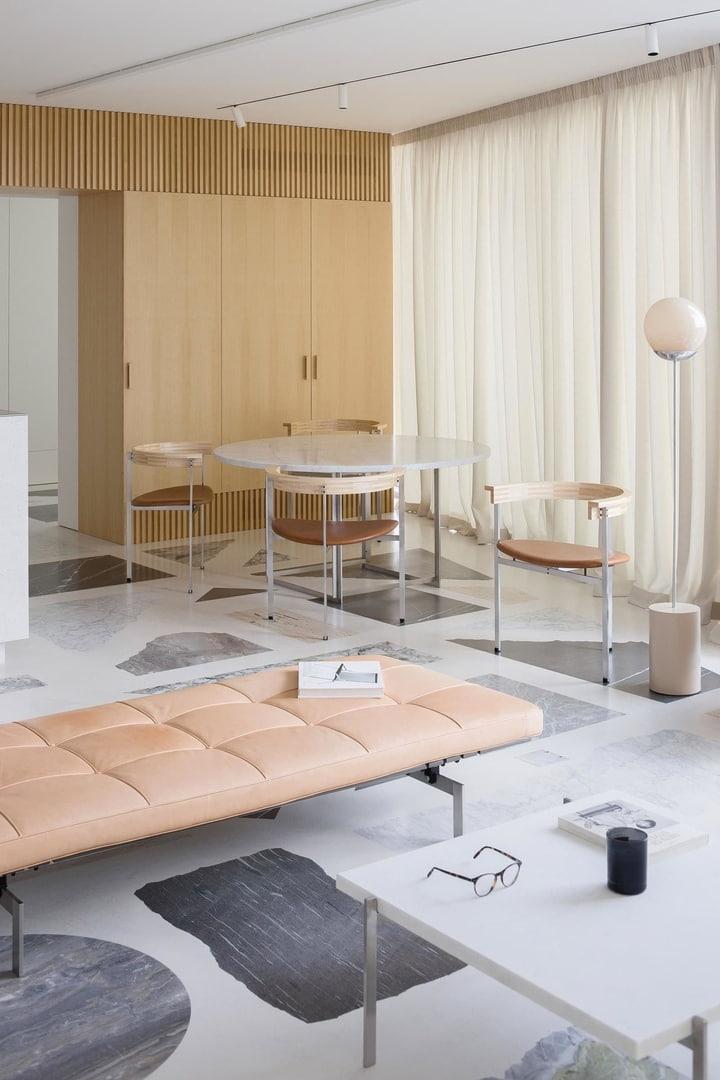 Двухэтажная квартира в Вильнюсе