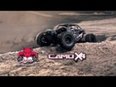 Redcat Racing - Camo X4 - 1/10 Scale Rock Racer - Brushless