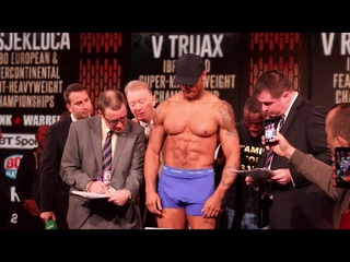 🦁ABSOLUTE BEAST!🦁 - ANTHONY YARDE v NIKOLA SJEKLOCA - OFFICIAL WEIGH-IN / THE BOYS ARE BACK IN TOWN