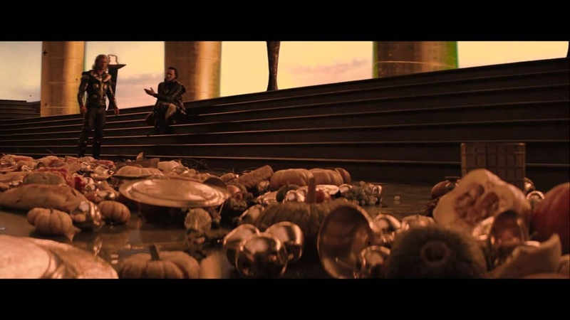 Thor - Thor, Loki, Sif the Warriors Three extended scene