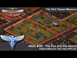 C&C Red Alert 2 Flipped Missions - Allied #09 The Fox and the Hound - Hard Difficulty
