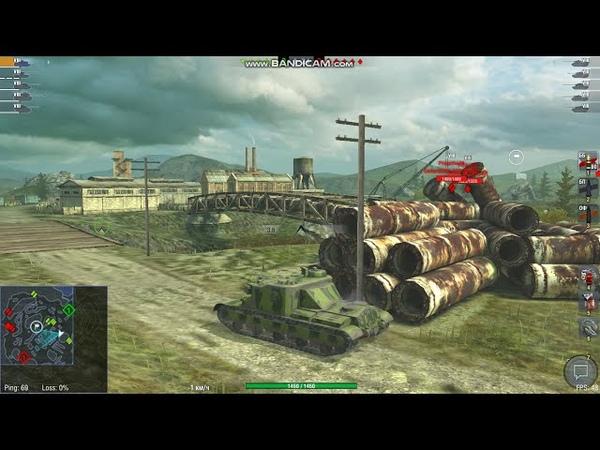 World of Tanks Blitz AT 15 ПРОБУЮ РЕЖИМ СТОЛКНОВЕНИЕ