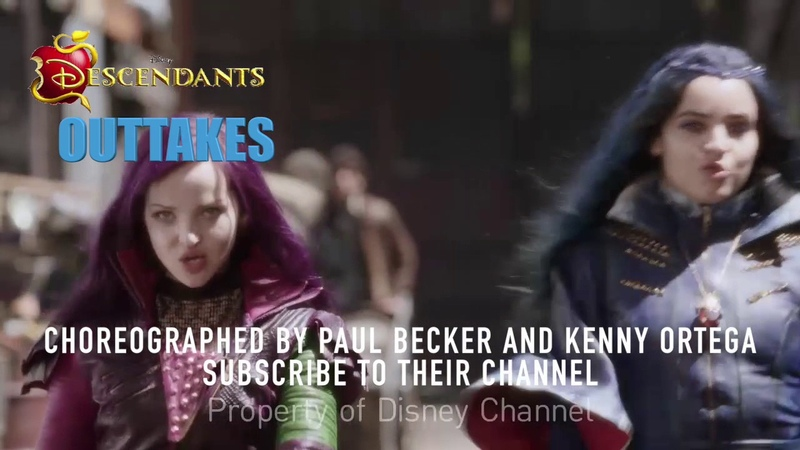 Dove Cameron Sofia Carson OutTakes Alley Strut Pt2 Descendants