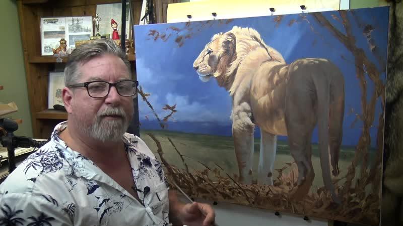 Курс масляной живописи с Аароном Блейзом