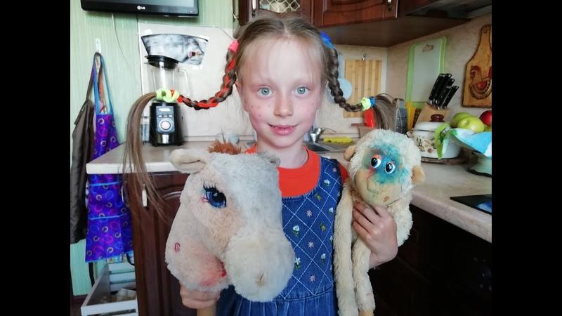 Василиса Гусарова 6 лет Пеппи собирается в гости по мотивам Пеппи Длинныйчулок бэкстейдж