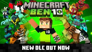 Набор «БЕН 10» для игры Minecraft!