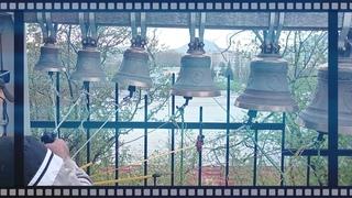 Праздничный Трезвон в Ольгинском в храме в храме г. Железноводск по традиции  на 7 Колоколах №1