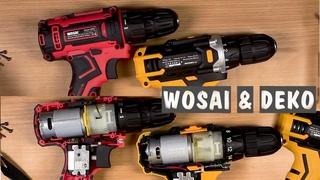 WOSAI WS-3020 & DEKO Sharker Распаковка, разборка, сравнение двух шуруповёртов. Deko фигня