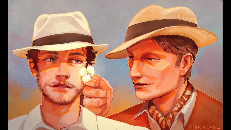 SPEEDPAINT Ганнибал и Уилл на Кубе