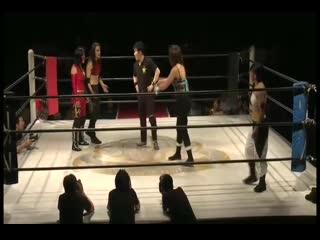 Kris Wolf & Kyoko Kimura vs. Star Fire & Thunder Rosa