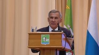 «Это стыд и позор, нужно что-то делать»: Минниханов указал властям Агрызского района на проблемы