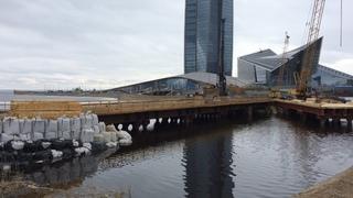 Лахта Центр, строительство объектов на прилегающей территории, 04 апреля 2021