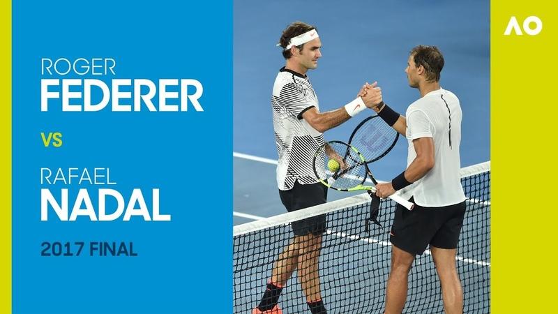 Roger Federer vs Rafael Nadal Australian Open 2017 Final   AO Classics